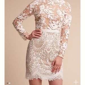 Monique Lhuillier Tiana Dress - BHLDN size 6